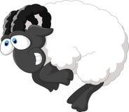 Овцы шаржа счастливые Стоковая Фотография RF