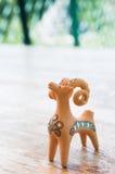 овцы figurine глины Стоковая Фотография RF