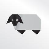 Овцы Origami Стоковые Изображения RF
