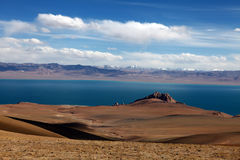 оглушать плато озера Стоковое Изображение