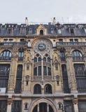 Оглушать parisien здание, Париж, Франция стоковые изображения rf