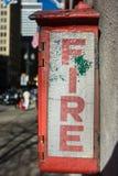 Огневое пространство топки стоковая фотография rf