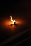 Огненный шар Стоковое Изображение RF