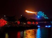 Огни дракона Стоковое фото RF