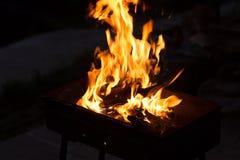 Огонь †танца огня «танцуя стоковое фото