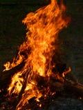 Огонь лагеря Стоковое Фото