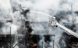 Огонь боя стоковое фото