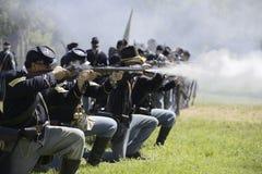 Огонь винтовки Стоковые Изображения