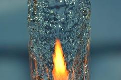 Огонь воды стоковая фотография rf