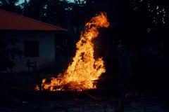 Огонь дальше Стоковые Изображения