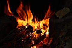 Огонь и пламена для предпосылки стоковые изображения rf
