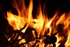 Огонь и пламена для предпосылки стоковое фото