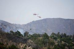 Огонь каньона тунца Ла Стоковая Фотография