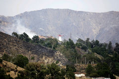 Огонь каньона тунца Ла Стоковые Изображения RF