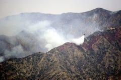 Огонь каньона тунца Ла Стоковое Фото