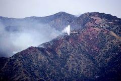 Огонь каньона тунца Ла Стоковые Фото