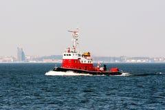 Огонь 5 корабля Стоковая Фотография