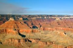 Огонь национального парка гранд-каньона Стоковые Изображения