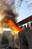Огонь отброса Стоковые Фотографии RF