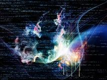 Огонь технологии Стоковое Изображение
