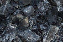Огонь угля текстуры Стоковое фото RF