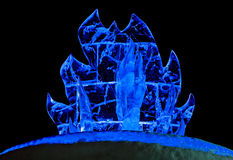 Огонь льда Стоковое фото RF