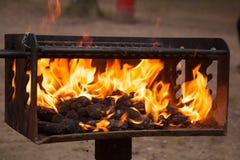 Огонь Стоковая Фотография