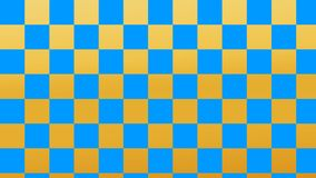Огонь Checkered огня & черных квадратов светлый и картина глубокого моря безшовная бесплатная иллюстрация