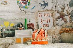 Огонь St Matt 3-11 Стоковое фото RF