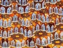 Огородите декор в Самарканд. стоковые изображения rf