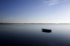 огороженное озеро Стоковое фото RF