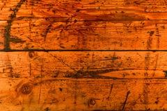 Огорченная деревянная предпосылка планки Стоковое Изображение