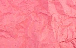 Огорченная и выдержанная красная бумажная текстура предпосылки Стоковые Изображения