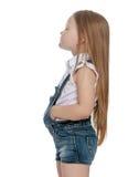 Огорченная маленькая девочка стоковое фото rf