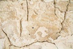 Огорченная предпосылка, треснутая предпосылка текстуры стены Стоковые Фото