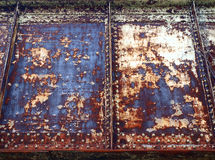 Огорченная предпосылка металла Стоковое фото RF