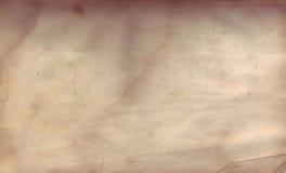 огорченная старая бумага Стоковая Фотография RF
