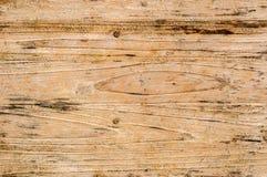Огорченная старая деревянная планка всходит на борт предпосылки Стоковое Фото