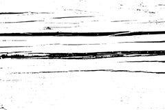Огорченная текстура вектора grunge полутонового изображения - старая деревянная предпосылка царапины Черно-белая иллюстрация вект Стоковые Изображения RF