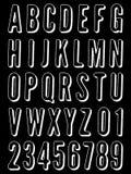 Огорченный алфавит бесплатная иллюстрация