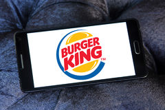 логос Бургер Кинг Стоковое Изображение RF
