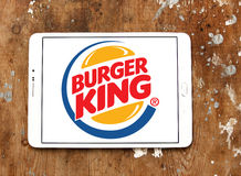 логос Бургер Кинг Стоковые Фото