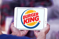 логос Бургер Кинг Стоковые Фотографии RF