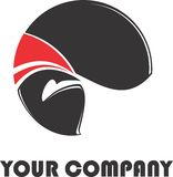 логос самомоднейший Стоковое фото RF
