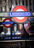логос london подземный Стоковое Изображение RF