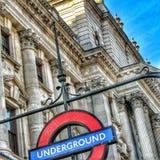 логос london подземный Стоковое фото RF