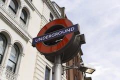 логос london подземный Стоковые Фото