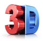 логотип 3D Стоковое Изображение RF