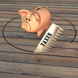ограбление банка Стоковая Фотография RF