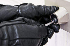 ограбление Стоковое фото RF